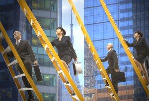 نردبان کار ، مسیر و ترقی