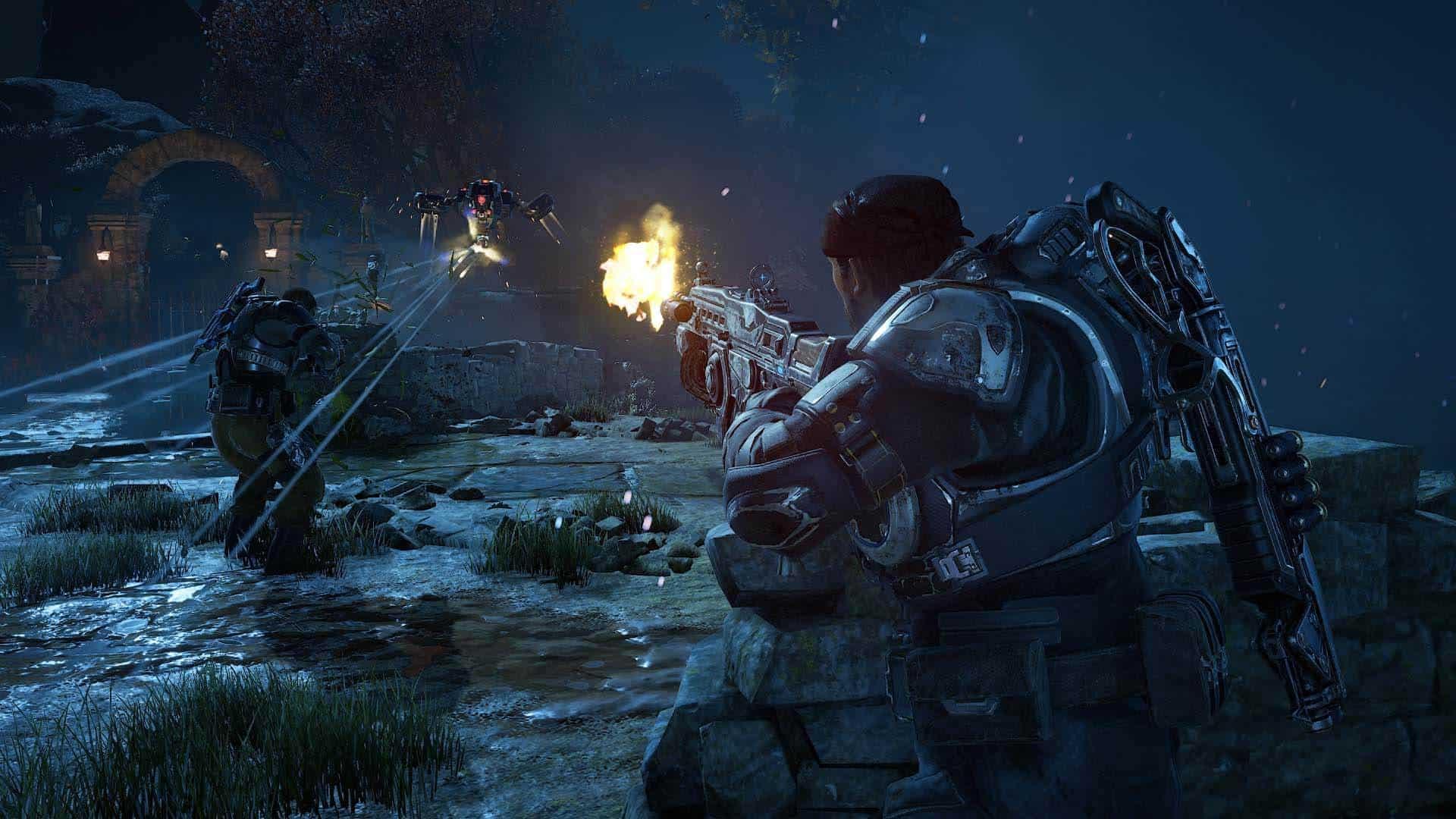 بازی ویدیویی گیرز آو وار ۴ (دندههای جنگ ۴) - Gears of War 4 Video Game