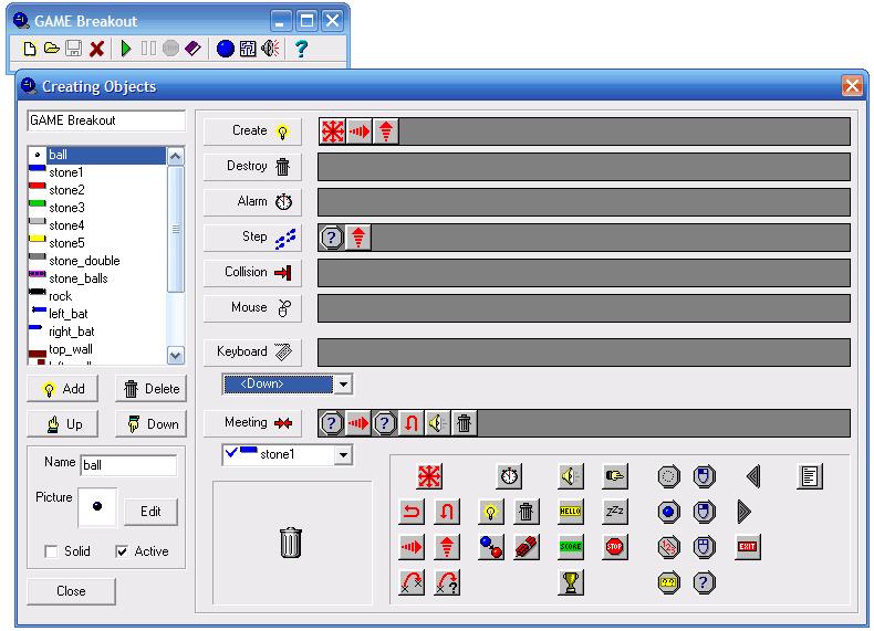 گیم میکر نسخه ۱