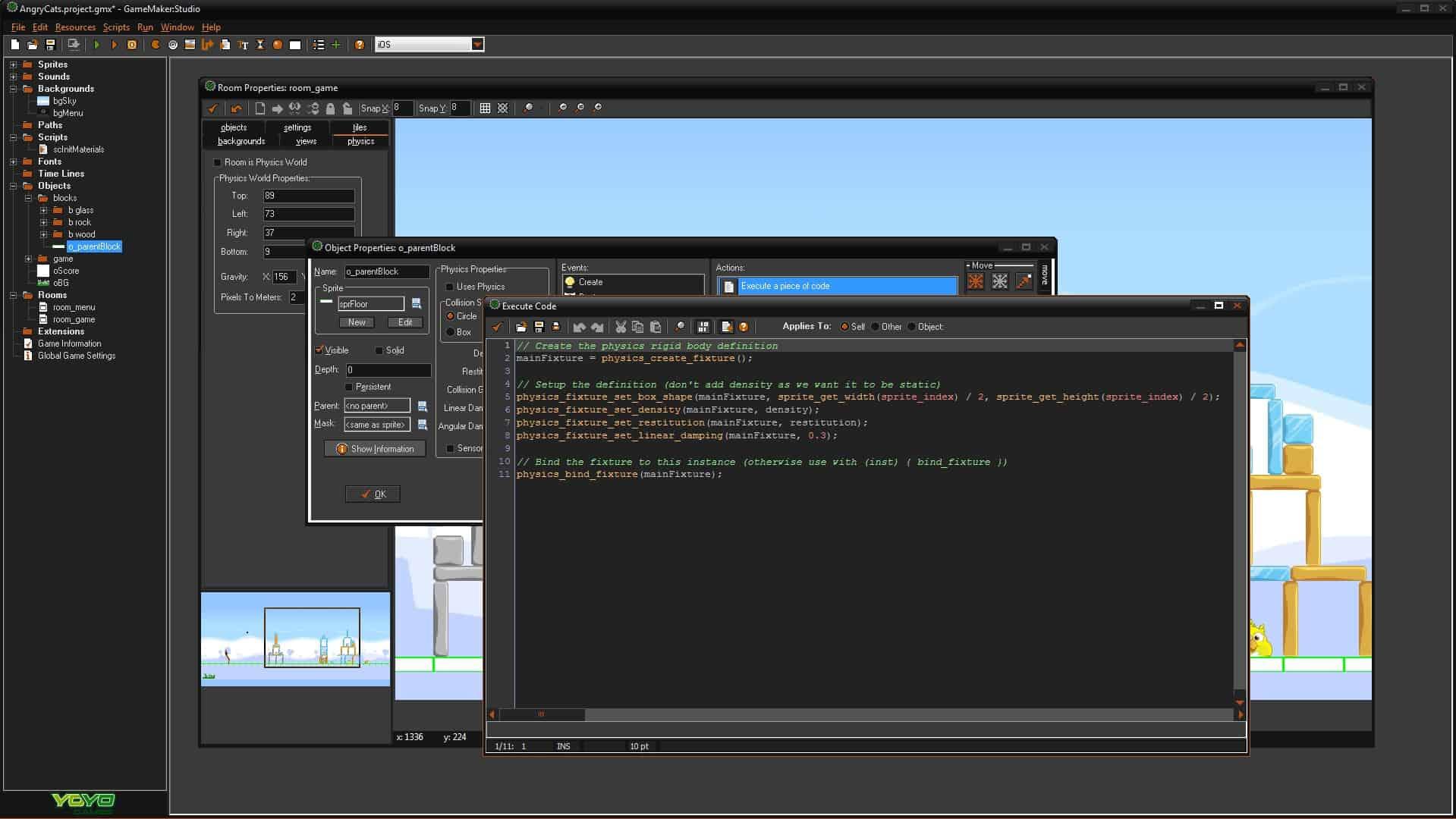 گیم میکر استودیو نسخه ۱