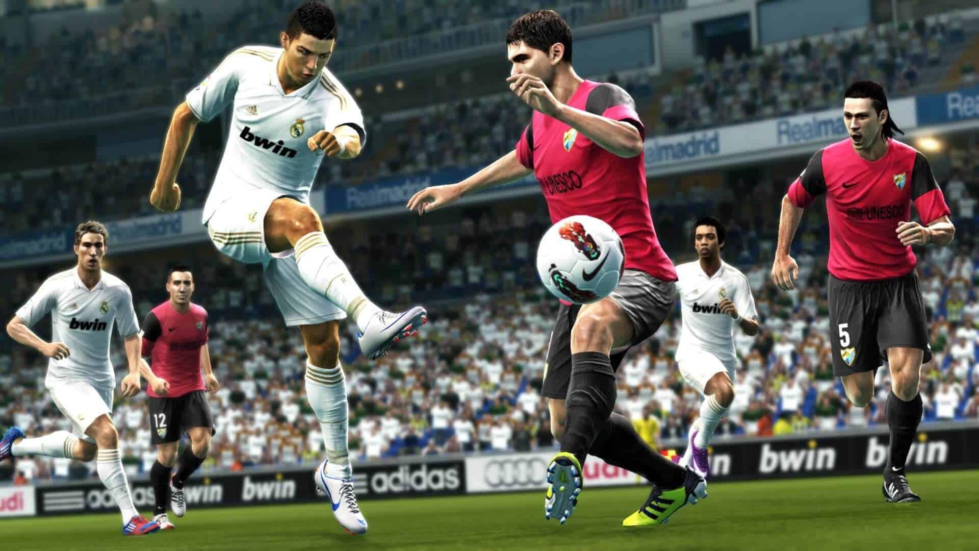 بازی ویدیویی فوتبال تکاملی حرفهای - Pro Evolution Soccer